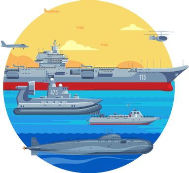 Military Boats Template