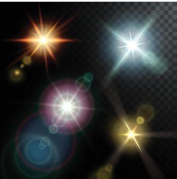 Realistic Lens Flares Beams