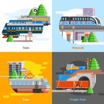 Rail Transport 2x2 Design Concept