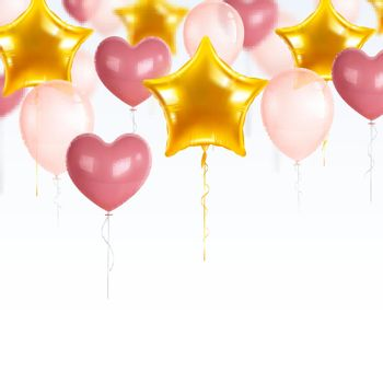 Party Balloons Composition