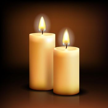 Isolated candles