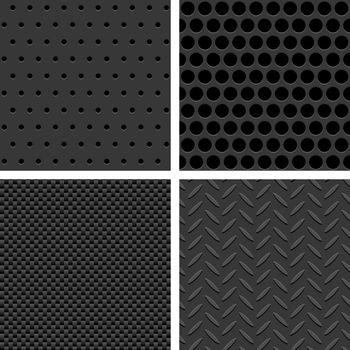 Seamless Metal Texture Patterns
