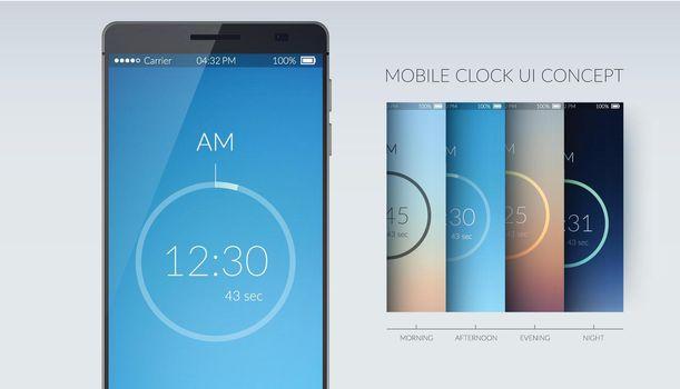 Clock UI Concept