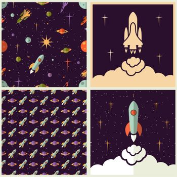 Planets, rockets and stars
