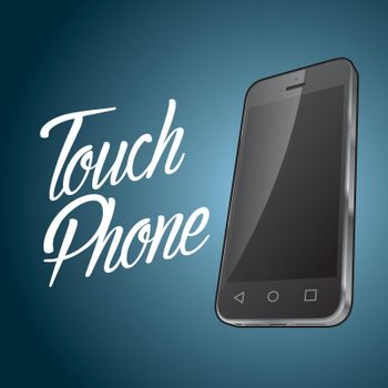 Smartphone Device Design Poster
