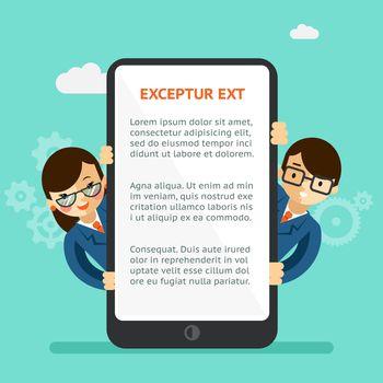 Mobile app presentation