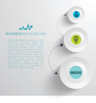 Minimalistic Business Concept