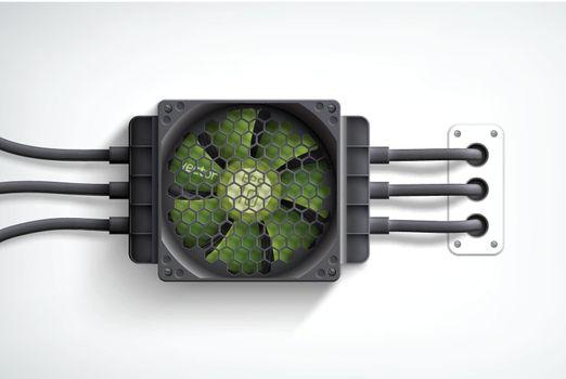 Computer Cooler Design Concept