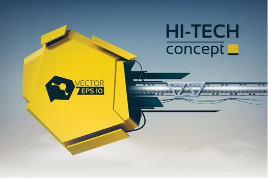 Digital Futuristic Design Concept
