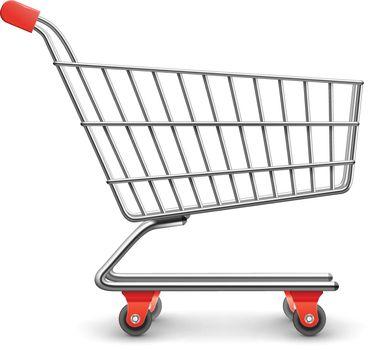 Shopping cart realistic