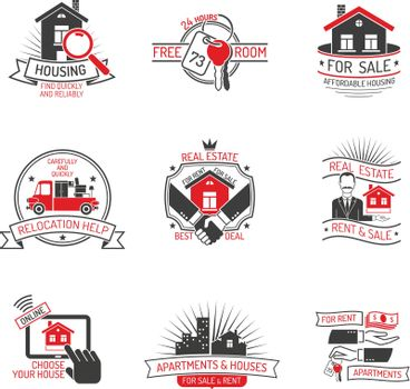 Real estate labels