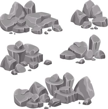 Design Groups Of Rocks And Stones Boulders