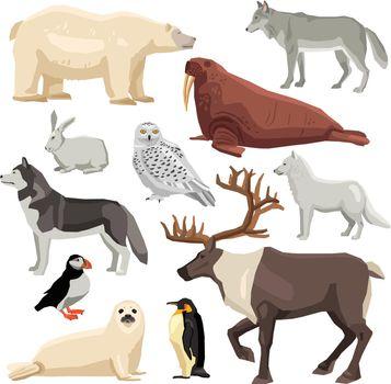 Polar Animals Set