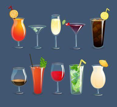 Drinks Glasses Set