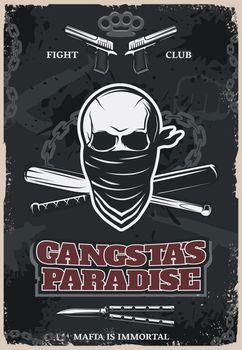 Gangstas Paradise Poster
