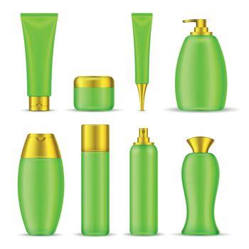 Set Of Cosmetic Packaging