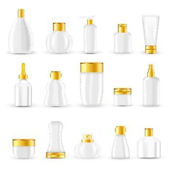 Cosmetic Packaging Design Set