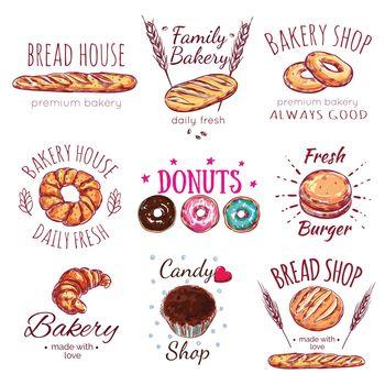 Bread House Logo Set