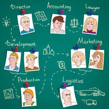 Business Team Infographics