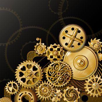 Golden Gears Composition