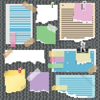 Note Papers Set