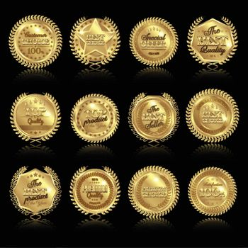 Medals With Reflections Set