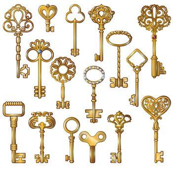 Golden Keys Set