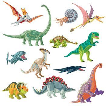 Jurassic Period Animals Set