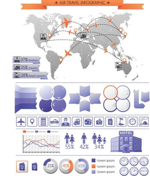 Summer Vacation Infographics