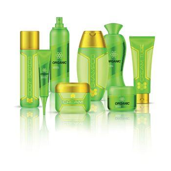 Cosmetics 3d Composition