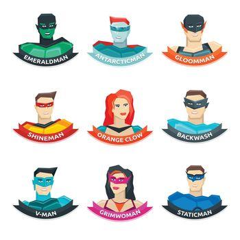 Superhero Avatars Collection