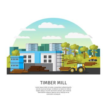 Timber Factory Template