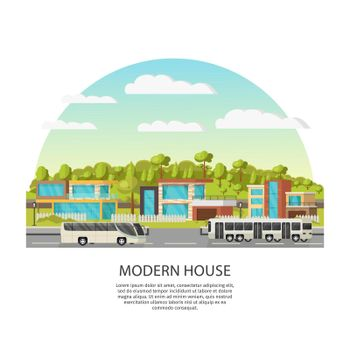 Suburban Houses Concept