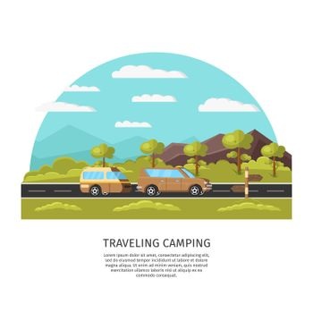 Light Traveling Camping Template