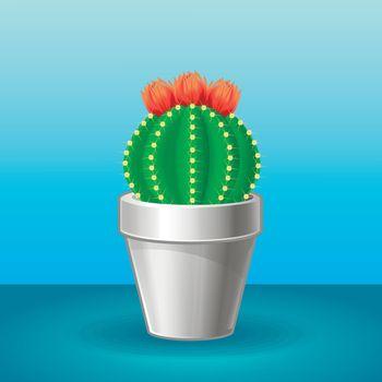 Organic Exotic Plant Concept