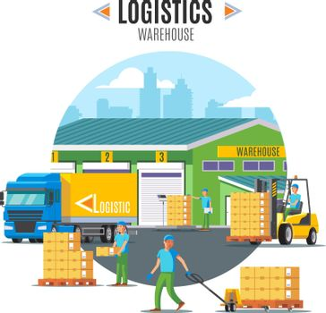 Logistic Warehouse Template