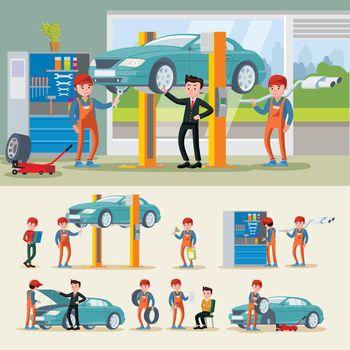 Auto Mechanics Composition