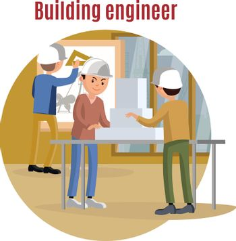 Building Engineering Concept