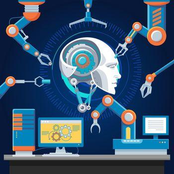 Technologic Futuristic Industry Template