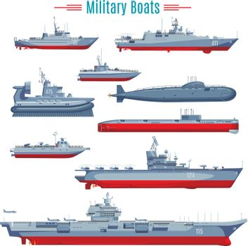 Military Boats Collection