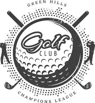Vintage Golf Logotype