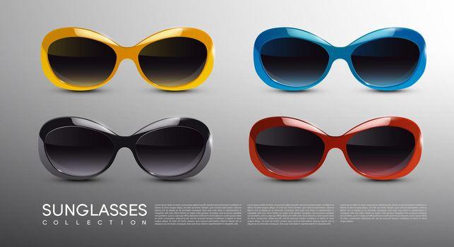 Fashionable Modern Sunglasses Set