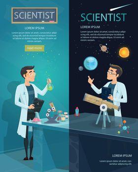 Scientific Vertical Banners