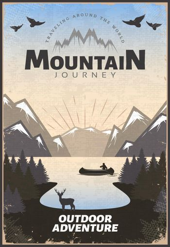 Mountain Travel Poster