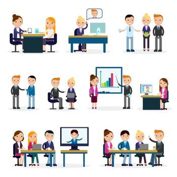 Business People Flat Collection