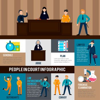 Law System Infographic Template