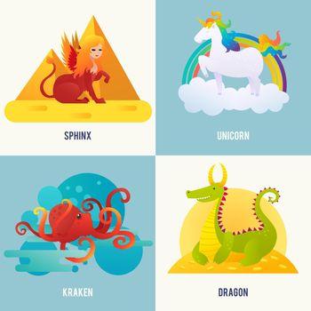 Fantasy Creatures Concept