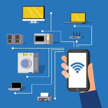 Wireless Technology Concept