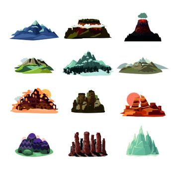 Mountain Landscapes Collection