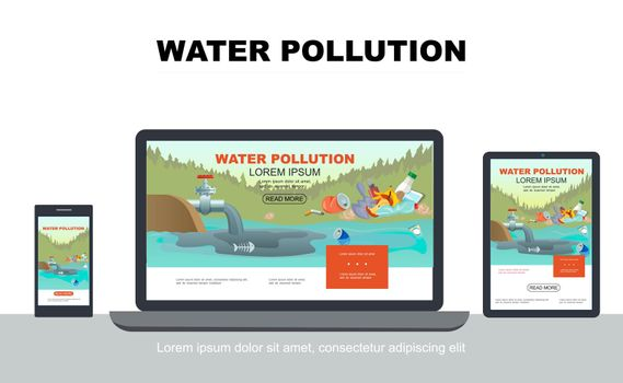Flat Water Pollution Adaptive Design Concept